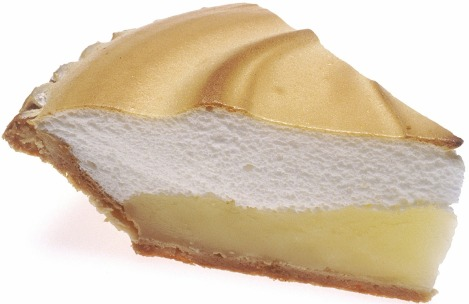 lemon-meringue-pie - slice