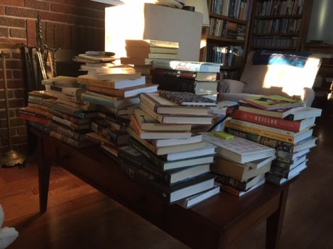 my book pile