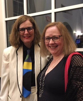 Paula Poundstone and me - cropped