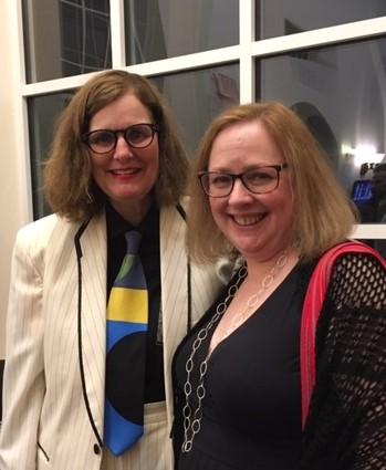 Paula Poundstone and me - cropped